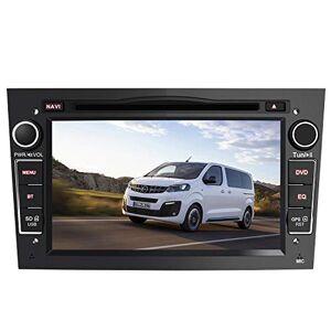 AWESAFE Autoradio pour Opel Voiture GPS Navigateur 7 Pouces unité de tte stéréo Voiture 2 Din avec Lecteur de CD DVD USB SD Bluetooth 720P Video FM AM RDS Wince Systme Noir - Publicité