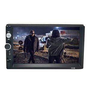 """ZERTRAN 7""""écran Tactile Autoradio Double Din Autoradio Lecteur MP5/3 avec Bluetooth FM/USB/AUX Soutien Lien Miroir - Publicité"""