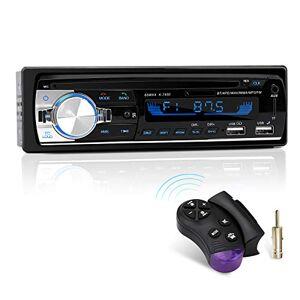 CENXINY Autoradio Bluetooth,  1 DIN Radio Voiture Récepteur avec Lecteur MP3 WMA FM Télécommande, Deux USB Port,Main Libre Stéréo 4 x 65W Soutien iOS, Android - Publicité