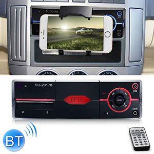 Anbel Lecteur Mp3, Voiture Radios, FM Radio, Radio Universal Car Récepteur Lecteur MP3, FM Support & Bluetooth avec télécommande (Color : Black) - Publicité