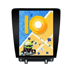 ZWNAV Écran Vertical 12,1 Pouces Android 9.0 One Din Auto Stéréo Navi Navigation GPS Bluetooth pour Ford Mustang 2010-2014 Adaptateur Unité Principale WiFi Carplay Manuel AC (4 + 64 Go) - Publicité