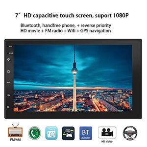 """CHENGYAN Lecteur MP5 de Voiture 7""""2-Din HD Universel Bluetooth écran Tactile capacitif USB/TF (Lecteur multimédia Radio FM stéréo de Voiture) - Publicité"""