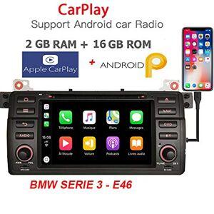 """GÜMÜ NAVIGATION ENTERTAINMENT SYSTEM GÜMÜ- PX30PROAZ03- Autoradio GPS Compatible pour BMW E46 Android+ CARPLAY, Écran Tactile DE 7""""+WiFi + Bluetooth + Port USB +16GB - Publicité"""