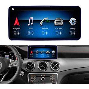Road Top Android 10 Voiture stéréo 10,25 Pouce écran Tactile de Voiture pour Mercedes Benz A GLA CLA Classe W176 X156 C117 CLA200 GLA200 GLA250 2016-2018 année, avec écran partagé Carplay sans Fil - Publicité