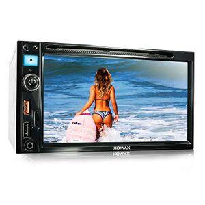 """XOMAX XM-2D6913 Autoradio I Moniceiver I Fonction sans Fil Bluetooth I Écran Tactile de 6,5"""" 16,51cm I Miroir de l'écran avec Android I RDS FM Tuner I DVD, CD, SD, USB I 2 DIN - Publicité"""
