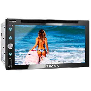 """XOMAX XM-2D6911 Autoradio I Moniceiver I Fonction sans Fil Bluetooth I cran Tactile de 6,9"""" 17,5cm I Miroir de l'écran avec Android I FM Tuner I DVD, CD, SD, USB I 2 DIN - Publicité"""