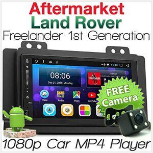 tunez Android 7.1 Nougat Autoradio Bluetooth MP3 MP4 Compatible avec Land Rover Freelander 1re génération MP3 Stéréo Radio Kit de faade d'autoradio Année 2004 2005 2006 2007 - Publicité