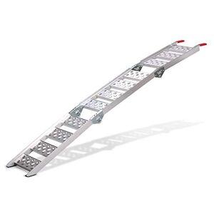 ConStands rampe de chargement III en aluminium, max. 270 kg, triple pliable, pour Moto, Scooter, Quad, ATV - Publicité