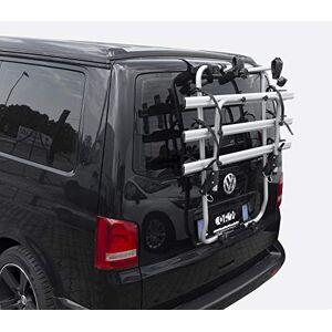 MENABO 38306878 Porte-vélos de hayon, argenté/Noir, Taille Unique - Publicité