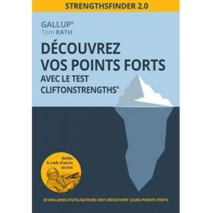 Découvrez vos points forts avec le test CliftonStrengths : StrengthsFinder 2.0 - Publicité