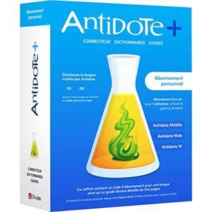 Druide Antidote+ Personnel Correcteur et dictionnaires pour le français ou l'anglais 1 an - Publicité
