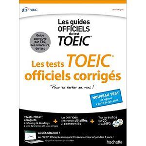 ETS TOEIC  : les tests officiels corrigés (conforme au nouveau test TOEIC) - Publicité