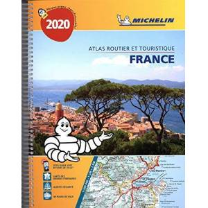 Atlas Routier et Touristique France Spirale Michelin 2020 - Publicité