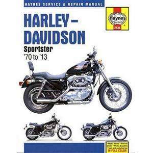 Ahlstrand, Alan Harley-Davidson Sportster '70 to '13 Repair Manual - Publicité