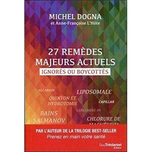 Dogna, Michel 27 remdes majeurs actuels ignorés ou boycottés - Publicité