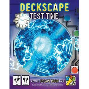 dV Giochi Deckscape: Test Time A Pocket Escape Room Game - Publicité