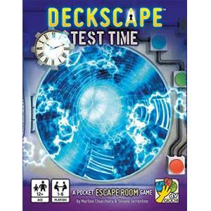 dV Giochi Deckscape: Test Time A Pocket Escape Room Game - Publicité