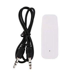 KinshopS Portable 3.5mm USB Musique Sans Fil Audio Stéréo Récepteur Adaptateur Dongle Pour iPhone Stéréo Récepteur De Musique Dongle - Publicité