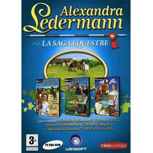 Ubisoft Alexandra Ledermann La Saga Equestre - Publicité