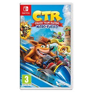 Activision Inc. Crash Team Racing Nitro-Fueled (Nintendo Switch) - Publicité
