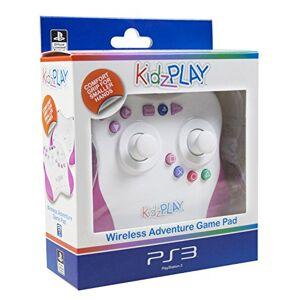 4Gamers Kidzplay Adventure Gamepad Controller Pink Playstation 3 PS3 - Publicité