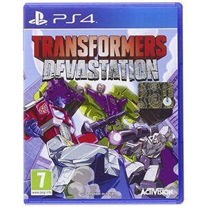 ACTIVISION PS4 TRANSFORMERS DEVASTATION - Publicité