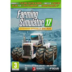 Focus Farming Simulator 17 extension officielle Big Bud - Publicité