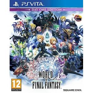 Square Enix Publisher Minori World of Final Fantasy - Publicité