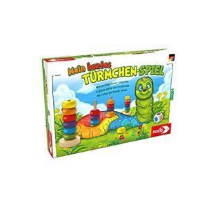 noris 606011235 Jeu éducatif Mon tourelles jeu coloré - Publicité