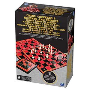Spin Master Spinmaster 6033146Chess/Dames/TTT - Publicité