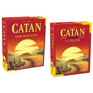 CATAN Bundle of Main Game With 5 6 Player Expansion - Publicité