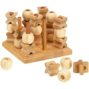 Philos 3266 Tic Tac Toe 3D Aus Bambou