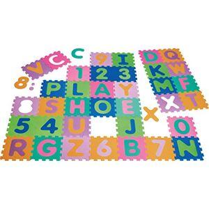 Playshoes Puzzle éducatif contenant 36 pices mélangeant chiffres et lettres - Publicité