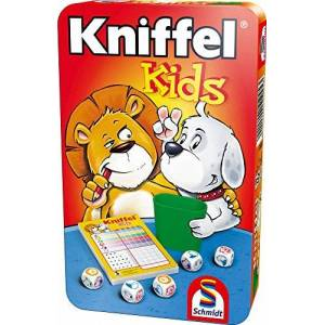 Schmidt 51245 Jeu de Société Kniffel Kids - Publicité