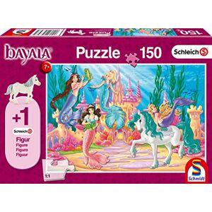 Schmidt Spiele Puzzle 56303 Le Chteau de Meamare, 150 pices, Personnage de Poulain vénitien Perle, Multicolore - Publicité