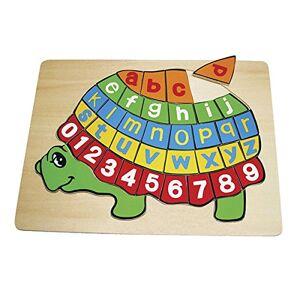 Small foot company 2423 Puzzle en Bois ABC Tortue - Publicité