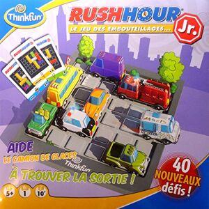 Asmodee TFRHJ02 Jeu d'Action et de Reflexe Rush Hour Junior - Publicité