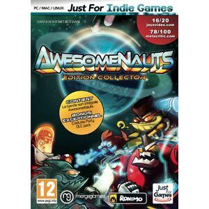 Just For Games Awesomenauts - Publicité