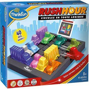 Think Fun TFRH01 Jeu Enfants Rush Hour Classique - Publicité