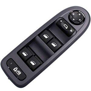 ZENHOX Interrupteur de vitre  remplacer pour Wagon  hayon  5 portes 508 / C5 2008-2013 OE: 98053439 Interrupteur de commande dalimentation livré avec un outil de retrait(Beige) - Publicité
