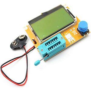 Ballylelly LCR-T4 LCD Numérique Transistor Testeur Compteur Rétro-Éclairage Diode Triode Capacité ESR Mètre pour MOSFET/JFET/PNP/NPN L/C/R 1