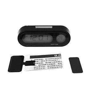 Ballylelly 2 en 1 Voiture Automatique Horloge électronique thermomètre Lumineux LED Affichage numérique Mini Tableau de Bord Portable Horloge Accessoires de Voiture - Publicité