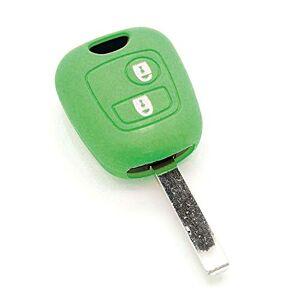 Housse de clé en Silicone pour Citron C1 C2 C3 C4 C5 Saxo Xsara Picasso Vert - Publicité