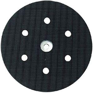 Metabo 631156000 Plato de apoyo con enganche velcro 150 mm 8 perforaciones dureza blando - Publicité