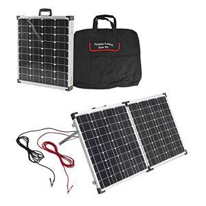 Beaut Lot de panneaux solaires portables 100 W   Sac de transport   Pliable   Prêt à brancher   Régulateur - Publicité