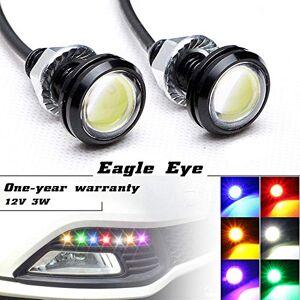 Newsun Lampe d'éclairage LED haute puissance Eagle Eye 3 W Avec vis, pour voiture ou moto Feux de recul/circulation/stationnement - Publicité