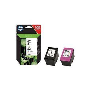 HP 62 Pack 2 Cartouches Noir et couleurs N9J71AE - Publicité