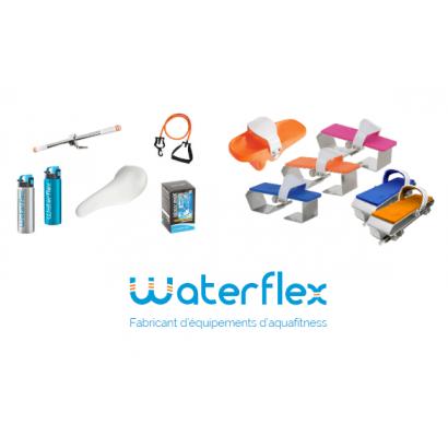 Water-flex Elastique de force pour aquabike et tapis - Résistance niv 2 - Vert