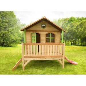 Axi Cabane pour enfant en bois STEF - Publicité