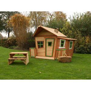 Axi Cabane pour enfant en bois LISA - Publicité